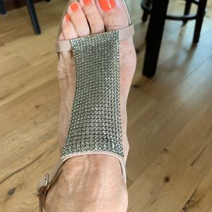 Burberry high heels sandals